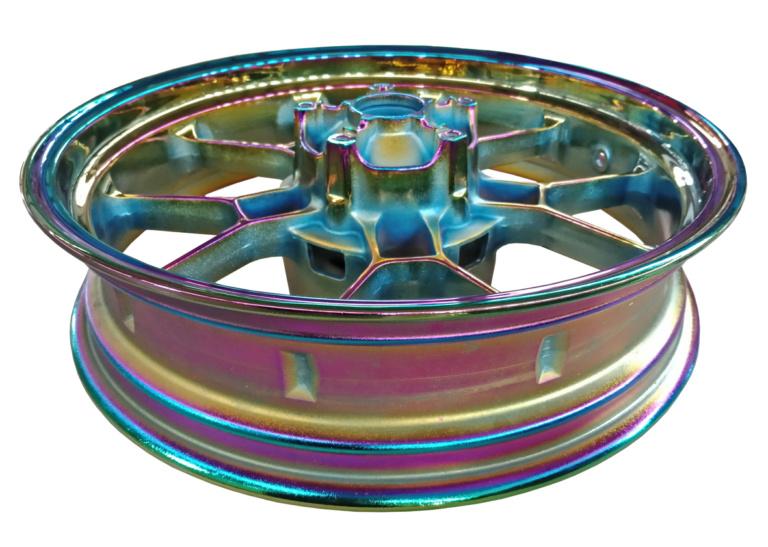 PVD Titanium Rainbow Coating